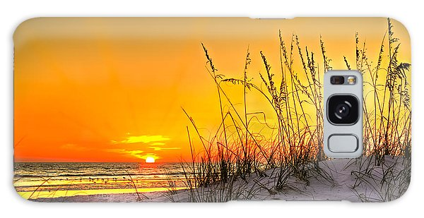 Gulf Sunset Galaxy Case by Marvin Spates