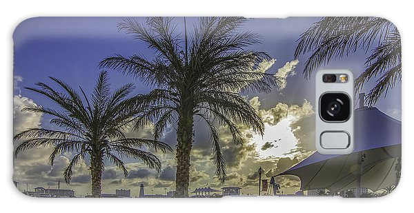Gulfport Harbor View Galaxy Case by Brian Wright