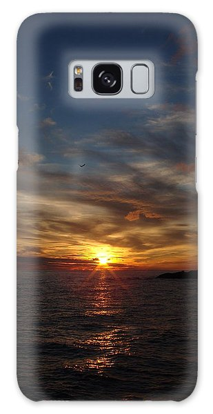 Galaxy Case - Gull Rise by Bonfire Photography