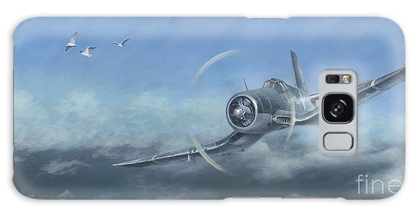 Gull Wings Galaxy Case by Stephen Roberson