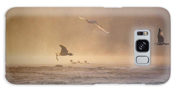 Gulls In The Fog Galaxy Case