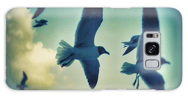 Gulls Galaxy Case by Paulo Guimaraes
