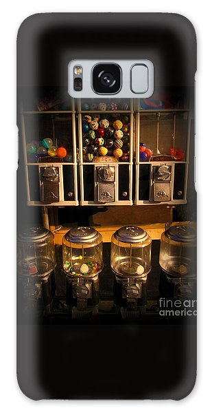 Gumball Memories - Row Of Antique Vintage Vending Machines - Iconic New York City Galaxy Case by Miriam Danar