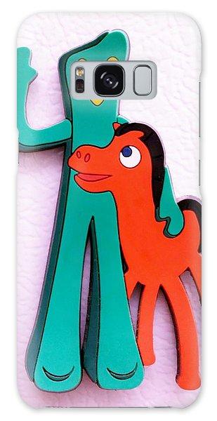 Gumby And Pokey B F F Galaxy Case