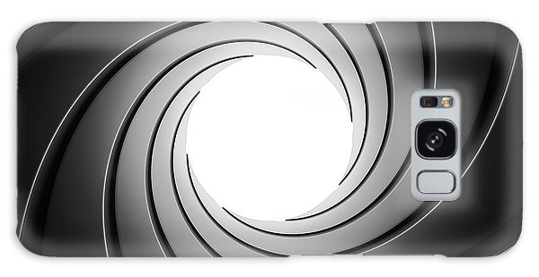 Center Galaxy Case - Gun Barrel From Inside by Johan Swanepoel