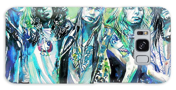 Guns N' Roses - Watercolor Portrait Galaxy Case