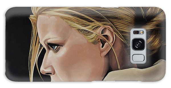 Realistic Galaxy Case - Gwyneth Paltrow Painting by Paul Meijering