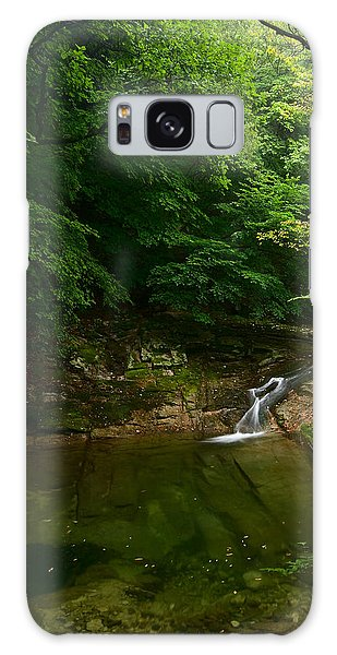 Galaxy Case featuring the photograph Gyeryongsan Stream And Pool by Brad Brizek