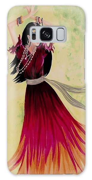 Gypsy Dancer Galaxy Case by Sophia Schmierer