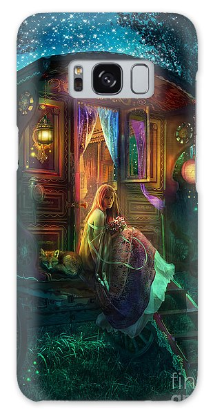 Gypsy Firefly Galaxy Case by Aimee Stewart