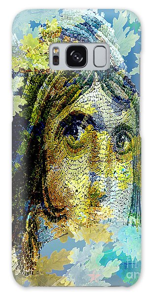 Gypsy Girl Mosaic Galaxy Case