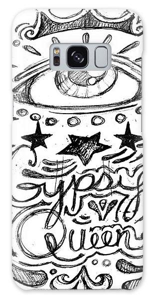 Gypsy Queen  Galaxy Case