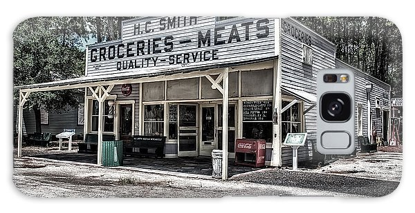 H C Smith's Groceries Heritage Village Galaxy Case by Michael White