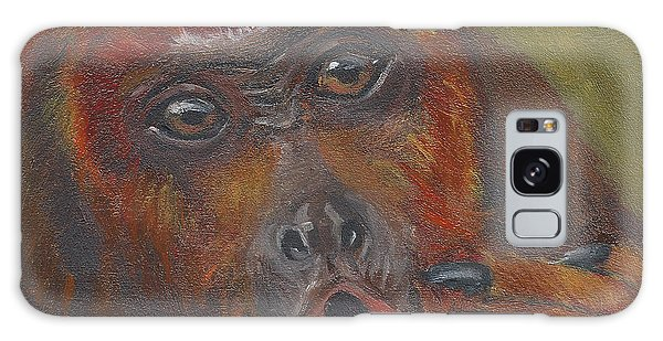 H Is For Howler Monkey Galaxy Case