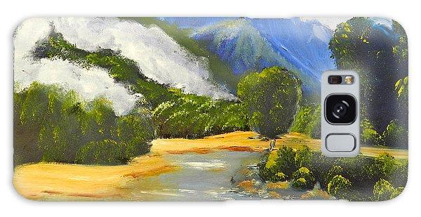 Haast River New Zealand Galaxy Case
