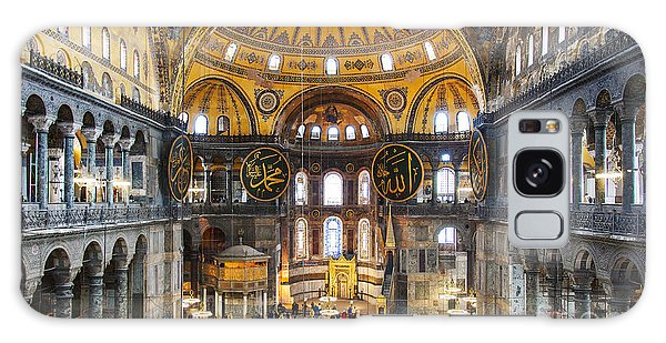 Hagia Sofia Interior 35 Galaxy Case