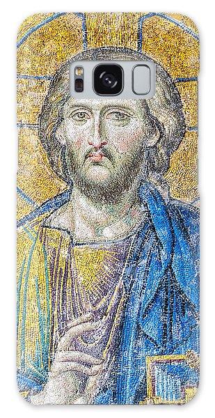 Hagia Sofia Jesus Mosaic Galaxy Case