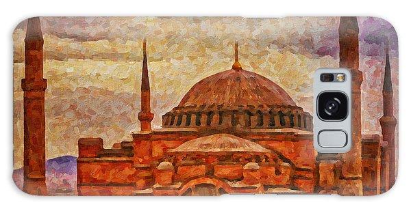 Hagia Sophia Digital Painting Galaxy Case