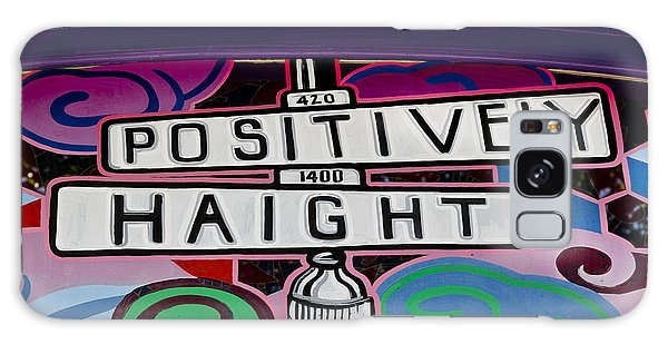 Haight-ashbury Art In San Francisco Galaxy Case by Carol M Highsmith