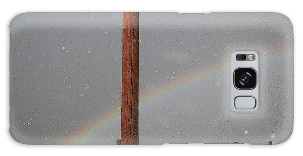Hail And Rainbow Galaxy Case