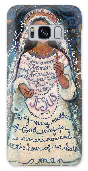 Hail Mary Galaxy Case