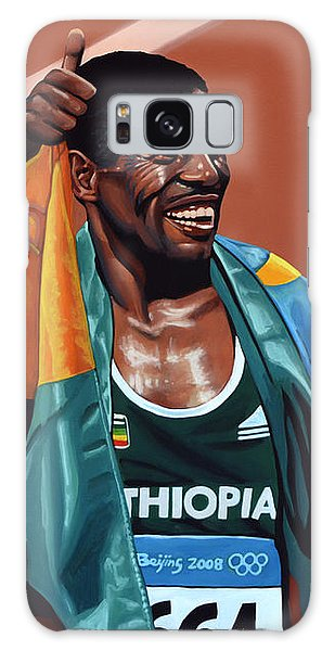 Sportsman Galaxy Case - Haile Gebrselassie by Paul Meijering