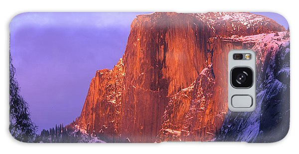 Half Dome Alpen Glow Galaxy Case