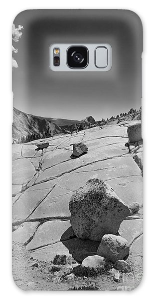Half Dome From Olmsted Point Galaxy Case by Terry Garvin