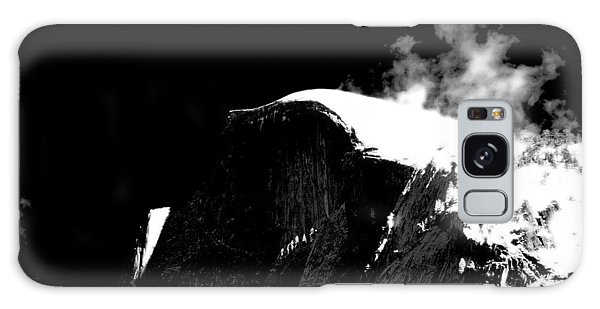 Half Dome In Winter Bw Galaxy Case