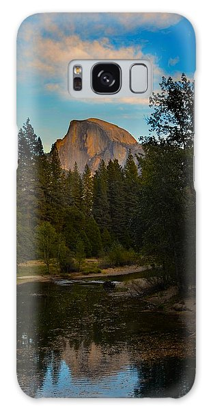 Half Dome In Yosemite Galaxy Case by Alex King