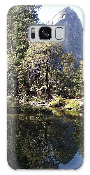 Half Dome Reflection Galaxy Case by Richard Reeve