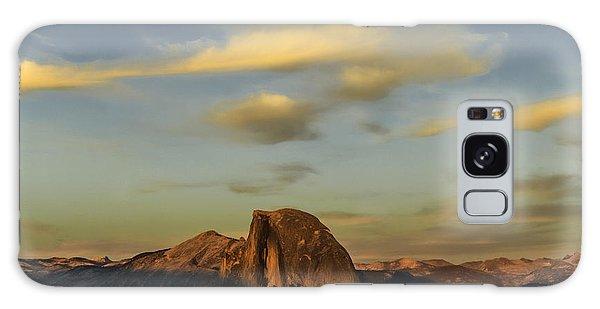 Half Dome Sunset Galaxy Case