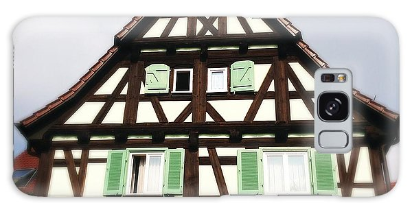 Half-timbered House 01 Galaxy Case