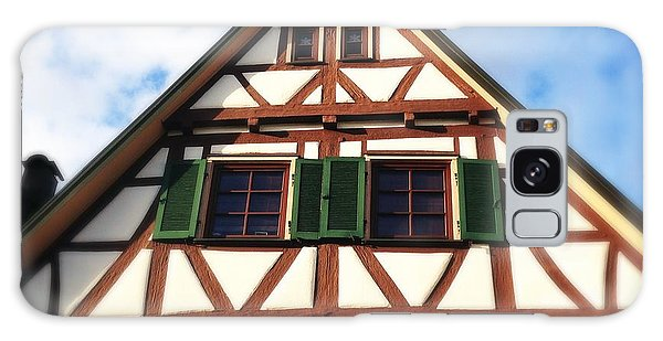 Half-timbered House 02 Galaxy Case