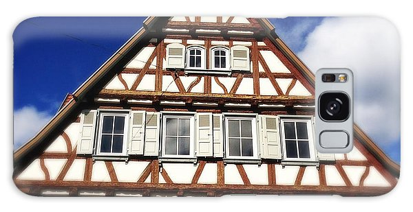House Galaxy Case - Half-timbered House 03 by Matthias Hauser