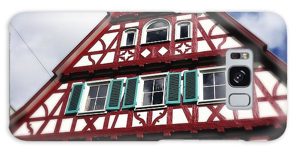 House Galaxy Case - Half-timbered House 04 by Matthias Hauser