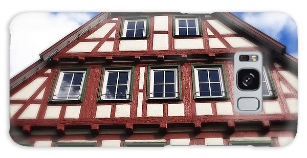 Half-timbered House 05 Galaxy Case