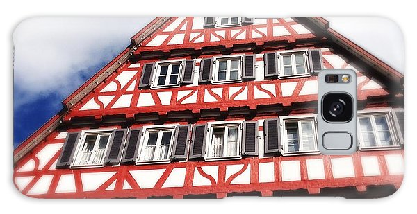 Half-timbered House 06 Galaxy Case
