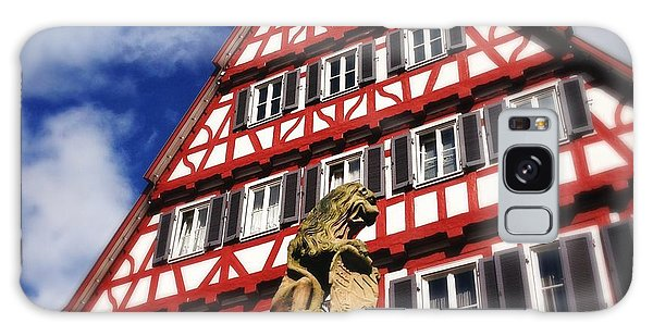 House Galaxy Case - Half-timbered House 07 by Matthias Hauser
