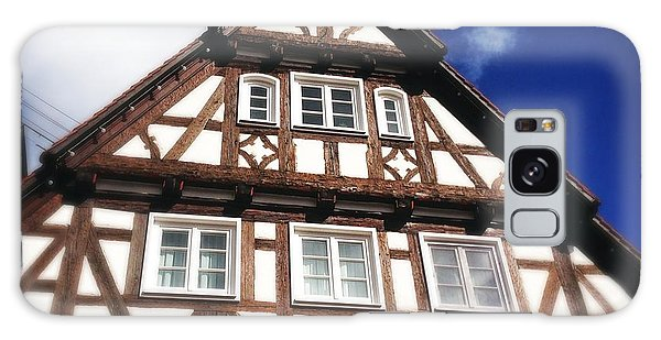 Half-timbered House 08 Galaxy Case