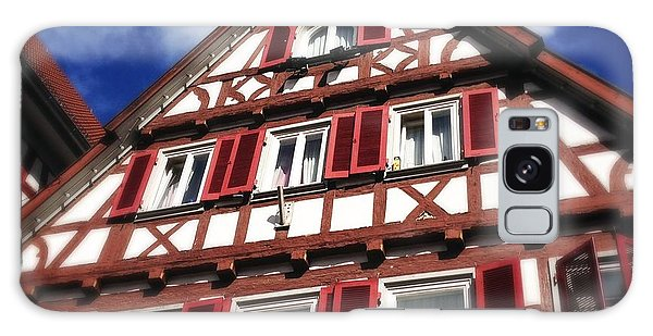 Half-timbered House 09 Galaxy Case