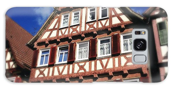 Half-timbered House 10 Galaxy Case