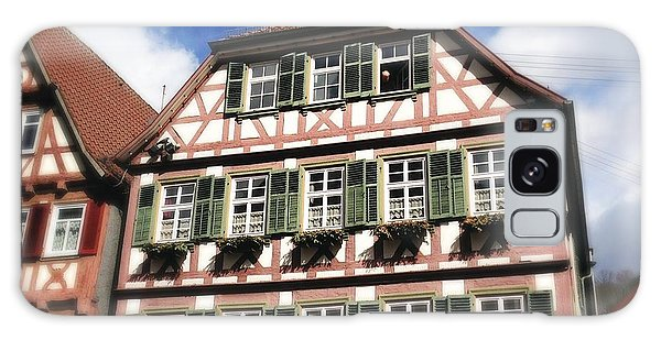 Half-timbered House 11 Galaxy Case