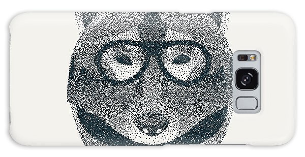 Coyote Galaxy Case - Halftone, Dotwork Hipster Wolf With by Krol