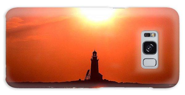 Halfway Rock Lighthouse Galaxy Case