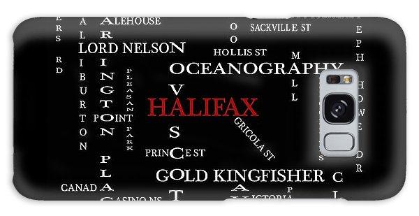 Halifax Nova Scotia Landmarks And Streets Galaxy Case
