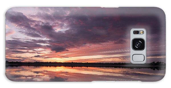 Halifax River Sunset Galaxy Case by Paul Rebmann