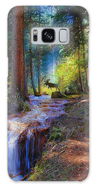 Hall Valley Moose Galaxy Case