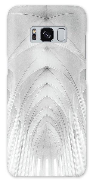 Iceland Galaxy S8 Case - Hallgrimskirkja Church  In Iceland by Charles Cho