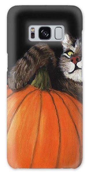 Halloween Cat Galaxy Case by Anastasiya Malakhova